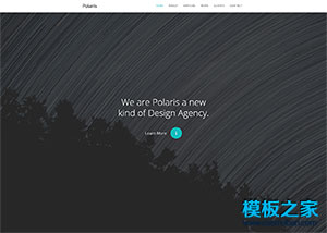 CSS3 One Page响应式bootstrap模板